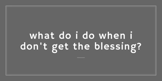 blessing blog